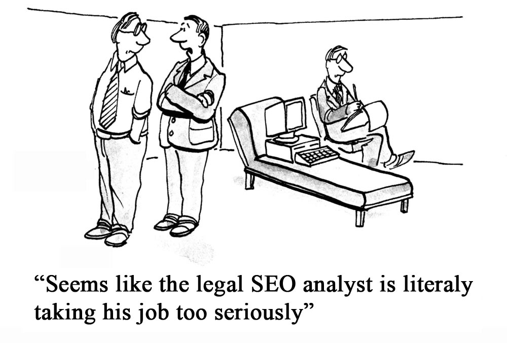 Law firm SEO analyst